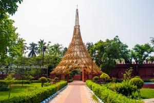 Tower like structure, Ma Phire Elo, Durga Museum, Rabindra Sarobar