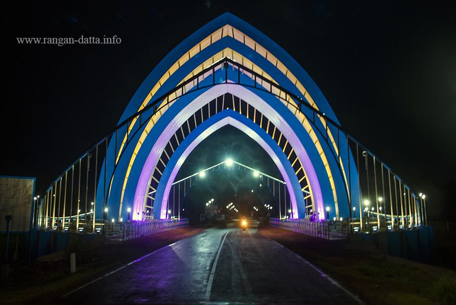 Illuminated Digha Gate
